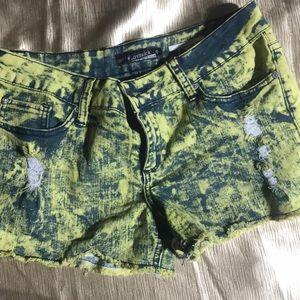Lovesick jean shorts size 9